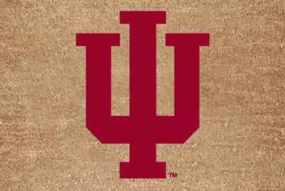 Indiana Hoosiers Logo Door Mat | Memory Company | IN-1689