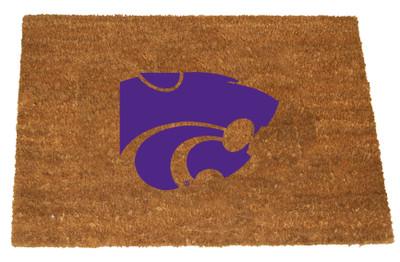 Kansas State Wildcats Logo Door Mat | Memory Company | KAS-1689