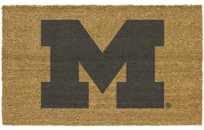 Michigan Wolverines Logo Door Mat | Memory Company | MH-1689