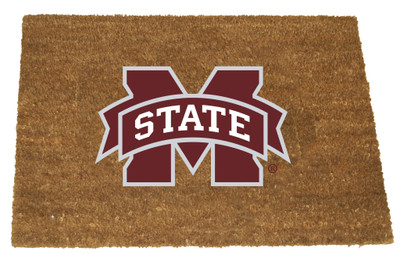 Mississippi State Bulldogs Logo Door Mat | Memory Company | MSS-1689