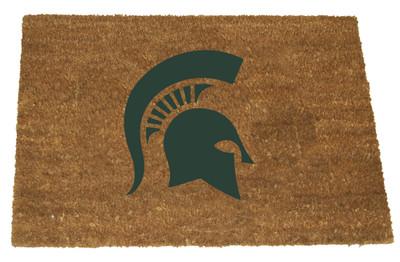 MSU Spartans Logo Door Mat |Memory Company | MSU-1689
