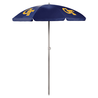 Georgia Tech Yellow Jackets Beach Umbrella | Picnic Time | 822-00-138-194-0
