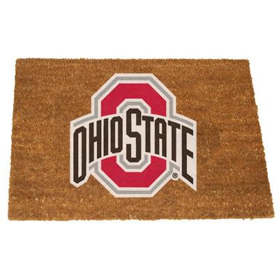 Ohio State Buckeyes Logo Door Mat | MEMORY COMPANY | OSU-1689