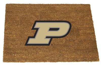 Purdue Boilermakers Logo Door Mat | MEMORY COMPANY| PUR-1689