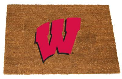 Wisconsin Badgers Logo Door Mat | Memory company | WIS-1689
