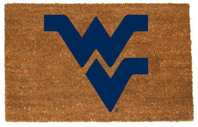 West Virginia Mountaineers Logo Door Mat | MEMORY COMPANY | WVI-1689