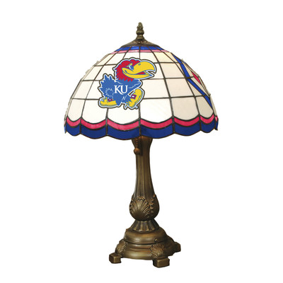 Kansas Jayhawks Tiffany Table Lamp   MEMORY COMPANY   KAN-500
