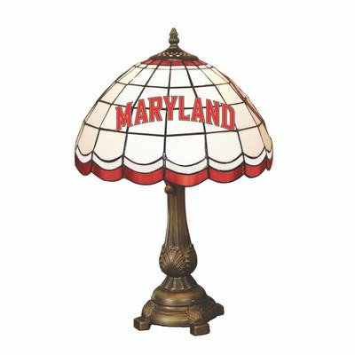 Maryland Terrapins Tiffany Table Lamp | MEMORY COMPANY| MAR-500