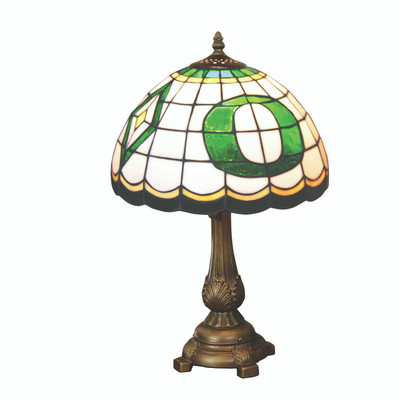 Oregon Ducks Tiffany Table Lamp | MEMORY COMPANY | ORE-500
