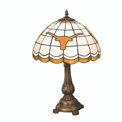 Texas Longhorns Tiffany Table Lamp | MEMORY COMPANY | TEX-500