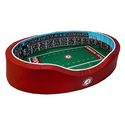 Alabama Crimson Tide Stadium Pet Bed- Small | Stadium Spot | FB-ALA-20-S