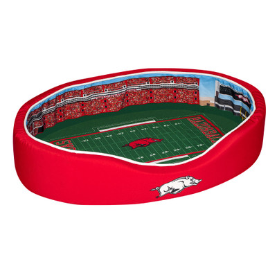 Arkansas Razorbacks Stadium Pet Bed | Stadium Spot | FB-ARK-20