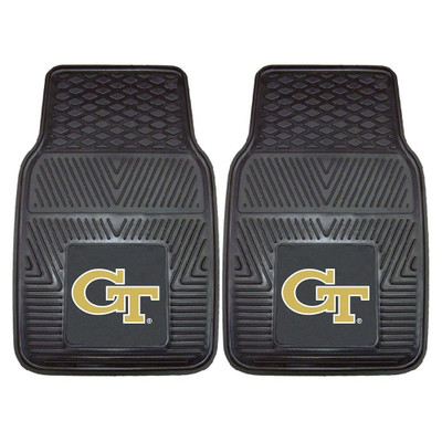 Georgia Tech Yellow Jackets Heavy Duty Car Mats | Fanmats | 8777