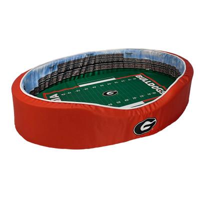 Georgia Bulldogs Stadium Pet Bed | Stadium Spot | FB-GEO-20