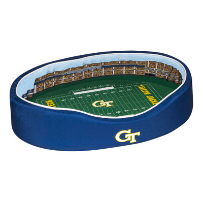 Georgia Tech Yellow Jackets Stadium Pet Bed | Stadium Spot | FB-GT-20