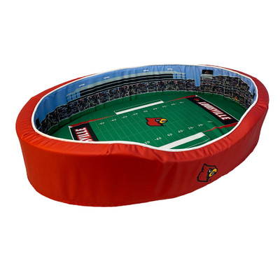 Louisville Cardinals Stadium Pet Bed | Stadium Spot | FB-LOU-20