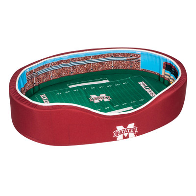 Mississippi State Bulldogs Stadium Pet Bed | Stadium Spot | FB-OLEM-20