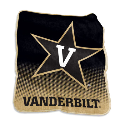 Vanderbilt Commodores Raschel Throw Blanket | Logo Chair | 232-26A