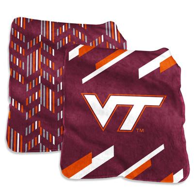 Virginia Tech Hokies Super Plush Blanket | Logo Chair | 235-27S-1