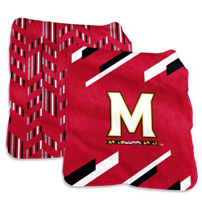 Maryland Terrapins Super Plush Blanket  | Logo Chair | 167-27S-1