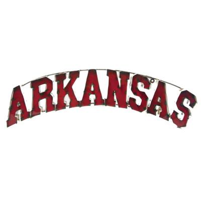 Arkansas Razorbacks Recycled Metal Wall Decor | LRT SALES | AKRANSASWD