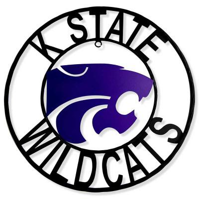 Kansas State Wildcats Wrought Iron Wall Decor | LRT SALES | KSWRI24