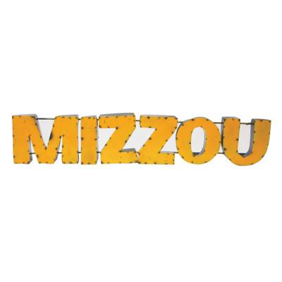 Missouri Tigers Recycled Metal Wall Decor Mizzou | LRT SALES | MIZZOUWD