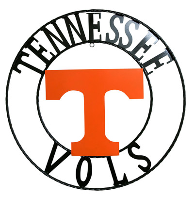 """Tennessee Volunteers Wrought Iron Wall Decor 24"""""""