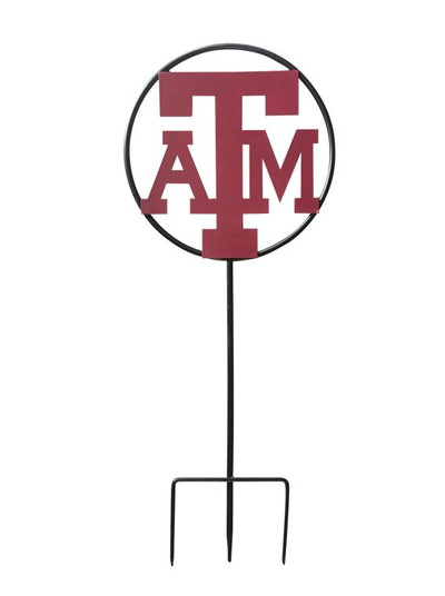 Texas A&M Aggies Wrought Iron Yard Decor | LRT SALES |A&MFLWWRI