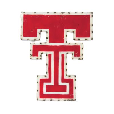 Texas Tech Red Raiders Recycled Metal Wall Decor TT | LRT SALES | DOUBLETWD