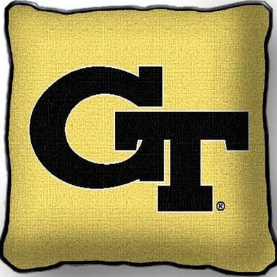 Georgia Tech Yellow Jackets Throw Pillow | Pure Country | 1550-P