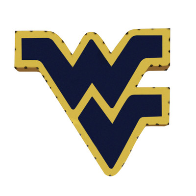 West Virginia Mountaineers Recycled Metal Wall Decor | LRT SALES | WVWD