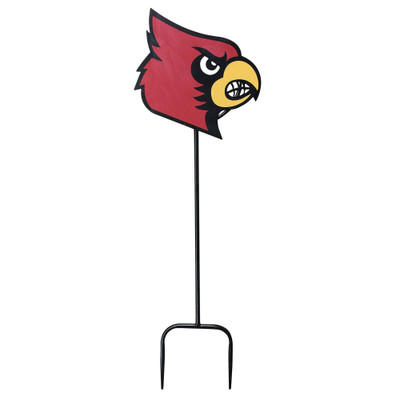 Louisville Cardinals Wrought Iron Yard Decor | LRT SALES | LOUFLWWRI