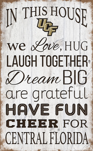UCF Knights In This House Wall Art |FAN CREATIONS | C0976-UCF