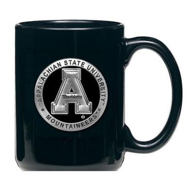 Appalachian State Mountaineers Coffee Mug Set of 2 | HERITAGE PEWTER | CM10325EKBK