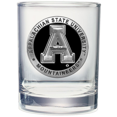 Appalachian State Mountaineers Cocktail Glasses Set of Two| Heritage Pewter | DOF10325EK