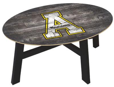 Appalachian State Mountaineers Distressed Wood Coffee Table |FAN CREATIONS | C0811-Appalachian State
