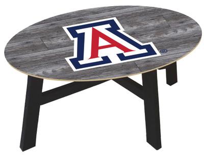 Arizona Wildcats Distressed Wood Coffee Table |FAN CREATIONS | C0811-Arizona