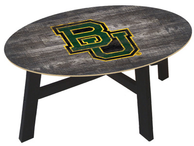Baylor Bears Distressed Wood Coffee Table |FAN CREATIONS | C0811-Baylor