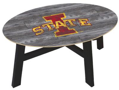 Iowa State Cyclones Distressed Wood Coffee Table |FAN CREATIONS | C0811-Iowa State