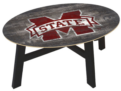 Mississippi State Bulldogs Distressed Wood Coffee Table |FAN CREATIONS | C0811-Mississippi State