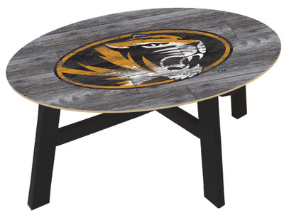 Missouri Tigers Distressed Wood Coffee Table |FAN CREATIONS | C0811-Missouri
