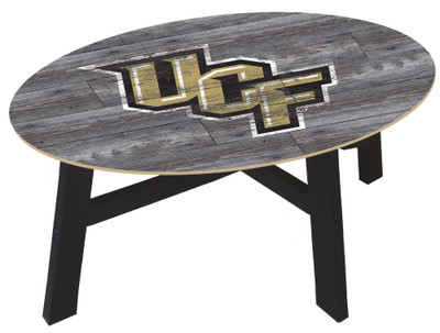 UCF Knights Distressed Wood Coffee Table | fan creations | c0811-UCF