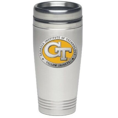 Georgia Tech Yellow Jackets Thermal Mug | Heritage Pewter | TM10463EY