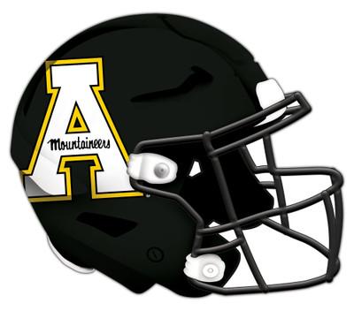 "Appalachian State Mountaineers Authentic Helmet Cutout 24"" | FAN CREATIONS |  C0987-Appalachian State"