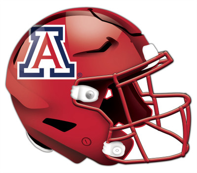 "Arizona Wildcats Authentic Helmet Cutout 24"" Wall Art | FAN CREATIONS |  C0987-Arizona"
