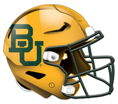 "Baylor Bears Authentic Helmet Cutout 24"" Wall Art 