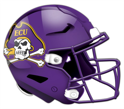 "East Carolina Pirates Authentic Helmet Cutout 24"" Wall Art 