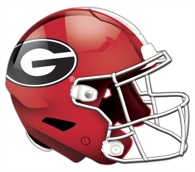 "Georgia Bulldogs Authentic Helmet Cutout 24"" Wall Art | FAN CREATIONS |  C0987-Georgia"