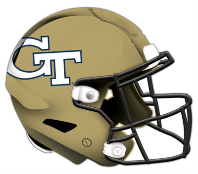 "Georgia Tech Yellow Jackets Authentic Helmet Cutout 24"" Wall Art 
